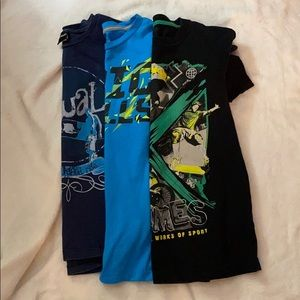 Other - Lot of 3 boys t-shirts size 10-12